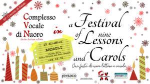 A Festival of nine Lessons and Carols - Concerto ad Adraùli @ Chiesa della Beata Vergine del Buon Cammino