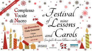 A Festival of nine Lessons and Carols - Concerto a Cala Gonone @ Chiesa di Nostra Signora di Bonaria