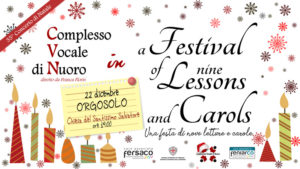 A Festival of nine Lessons and Carols - Concerto a Orgosolo @ Chiesa del SS Salvatore